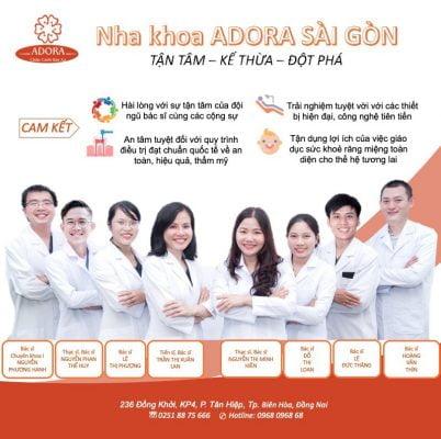 đội ngũ y bác sĩ Adora